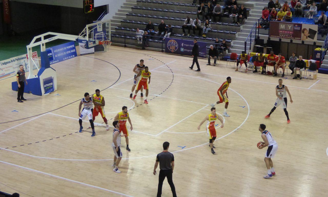 NM1 (20e journée) : Angers BC se rassure face à Saint-Vallier (89-63).
