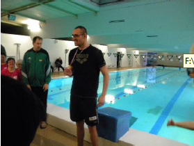 Bilan du championnat départemental du Sport Adapté de natation, à Saumur.