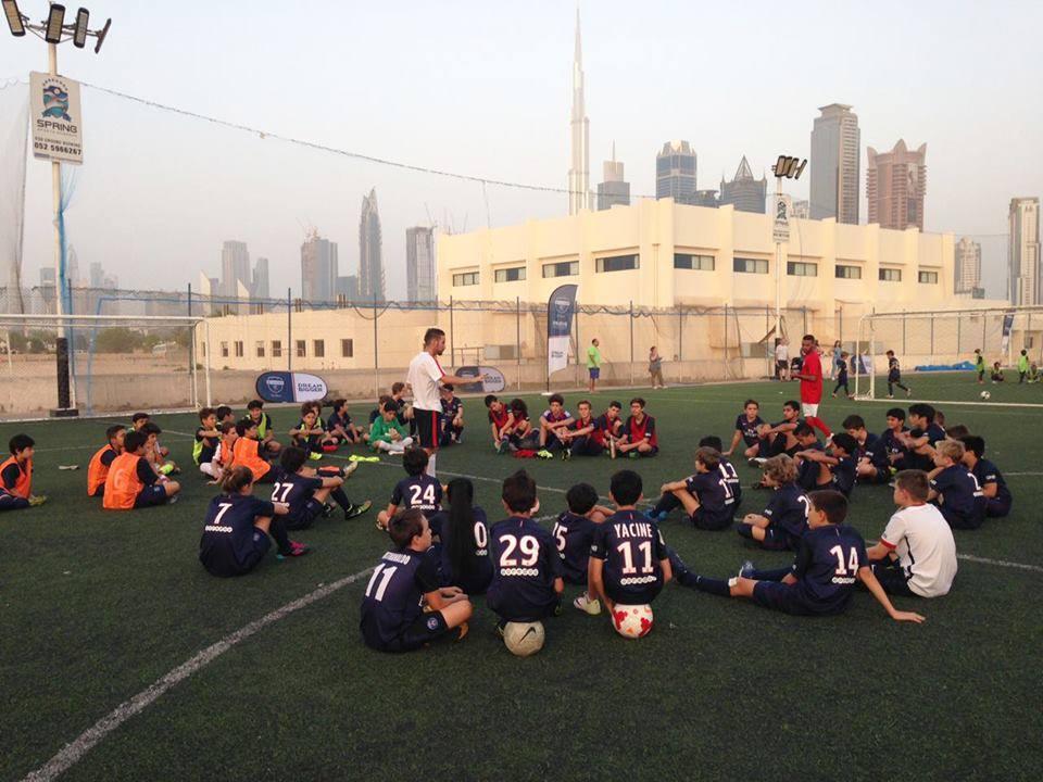 Adrien CHEVE : Je vis une incroyable expérience à la PSG Academy de Dubaï.