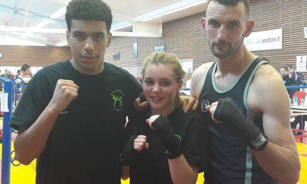 Gros plan sur l'AS Tiercé Boxe Française et sur sa discipline sportive.