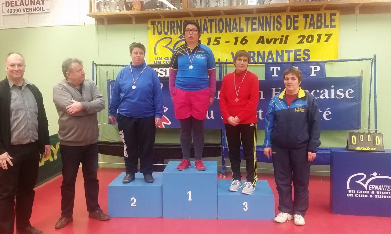 Bilan du championnat Départemental de Tennis de Table Sport Adapté.