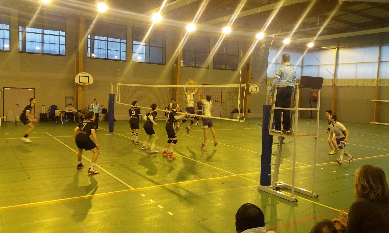 Volley (N2M) : Angers SCO Volley méritait mieux face à l'AS Cesson Saint-Brieuc (1-3).
