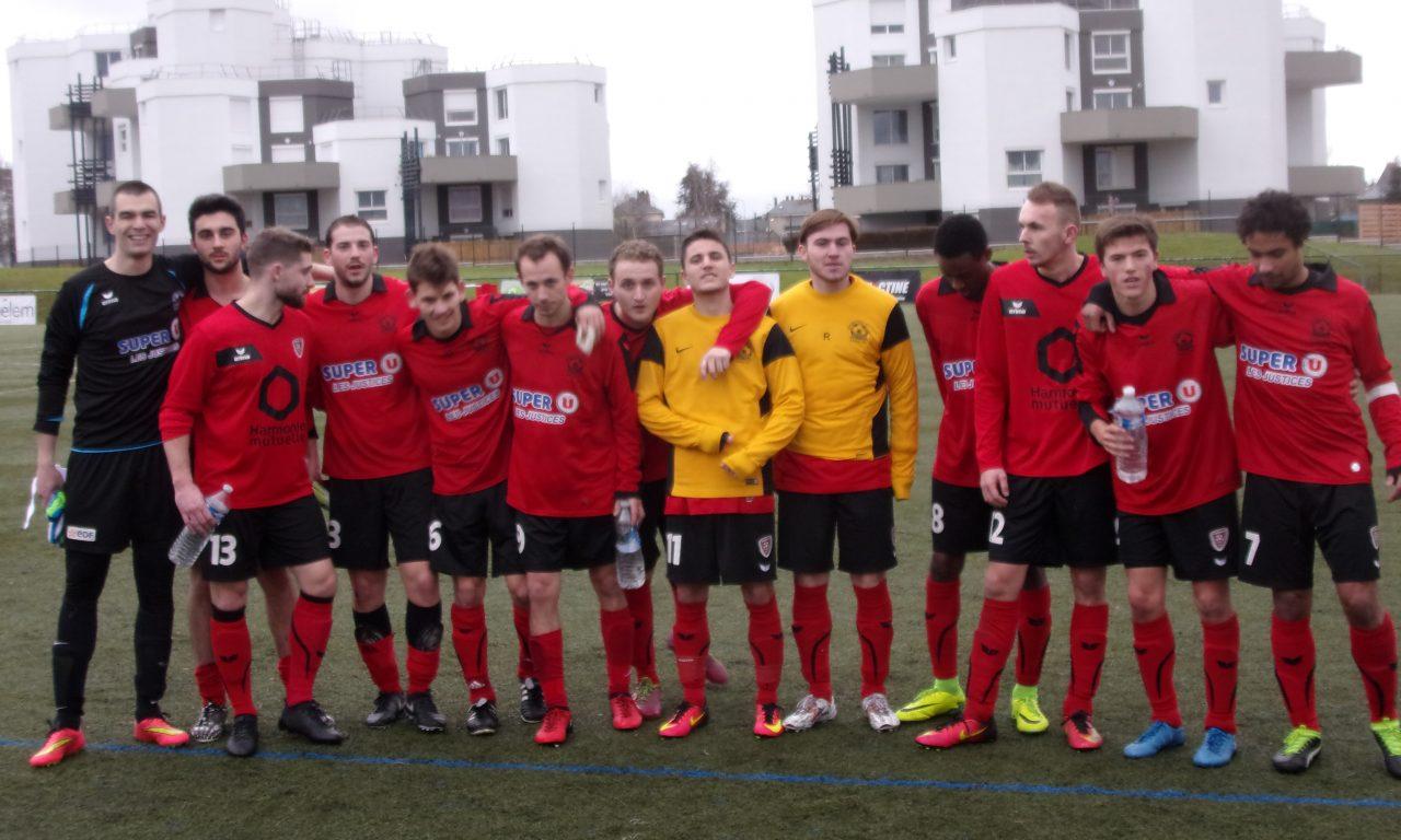 DRH (13e journée) : Victoire capitale d'Angers SCA face à Carquefou (b) (2-1).
