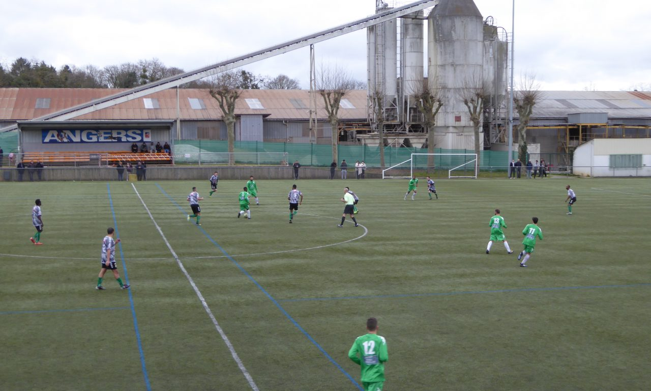 DSR (14e journée) : La Vaillante remporte le derby face à Bouchemaine (3-1).