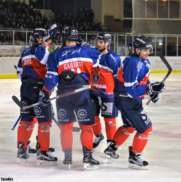 Ligue Magnus (1/4 de finale Play-offs) : Programme des Ducs d'Angers.