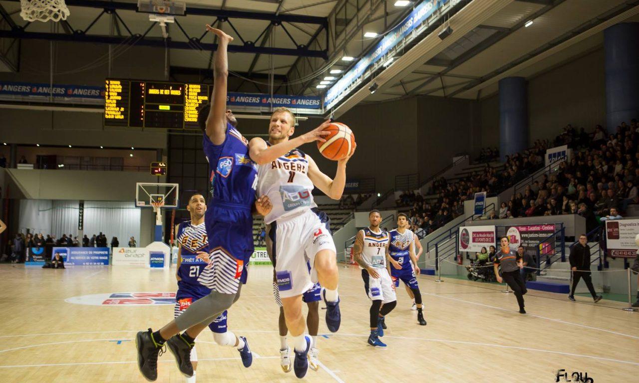 NM1 (26e journée) : Victoire importante d'Angers BC face à GET Vosges (84-76).