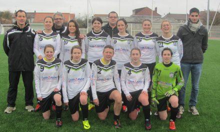 Aujourd'hui l'équipe féminine d'AJJFC est aux portes de la DH !