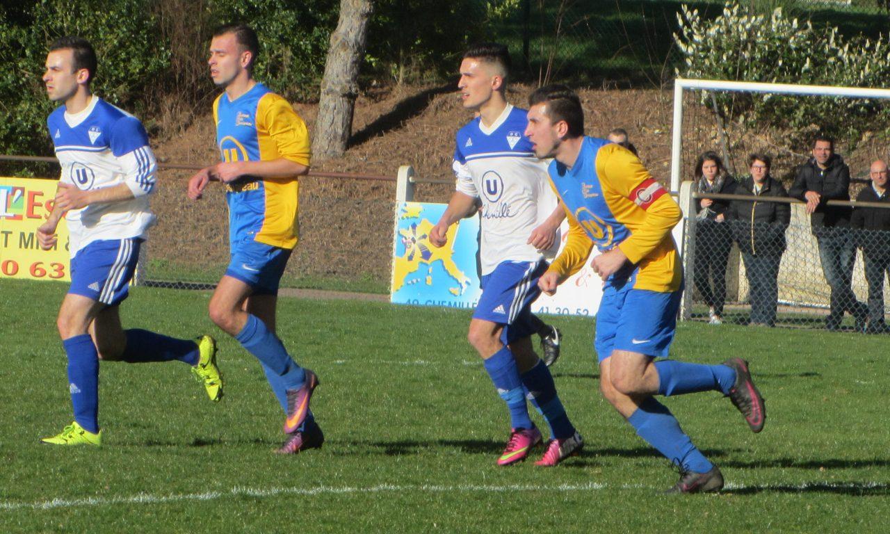 DRH (15e journée) : Le FC Beaupréau s'impose face à Chemillé lors du derby des Mauges (2-1).