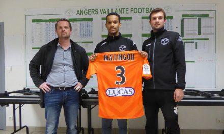 Le jeune espoir Vaillantais, Yannis MATINGOU, s'engage avec le Stade Lavallois.