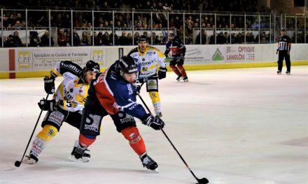 Ligue Magnus (1/4 de finale) : Rouen s'impose à Angers (6-3) et revient à deux partout dans la série.
