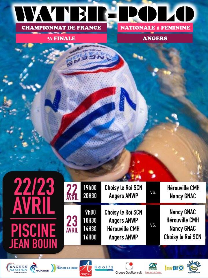 1_2 finale Championnat de france N1 22 & 23 Avril 2017 ANGERS