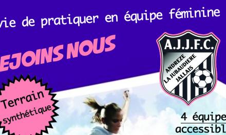 La section féminine d'AJJFC recherche un entraîneur pour la saison prochaine.