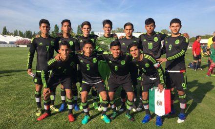 Tournoi de Montaigu : Un début positif pour l'équipe du Mexique face l'Angleterre (1-1).