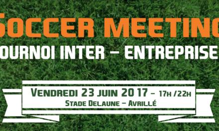 Soccer Meeting : Tournoi de football inter-entreprises, à Avrillé.