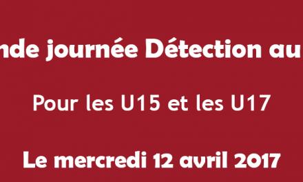 Le club d'Angers SCA organise une journée de détection U15 et U17.