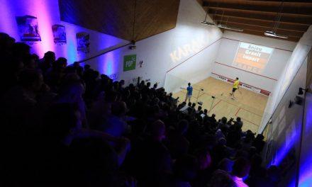 4e open international de squash, avec 28 des meilleurs joueurs du monde.