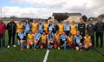 """Groupement Féminin """"PSV du Loir"""" Pellouailles-Seiches-Villevêque."""
