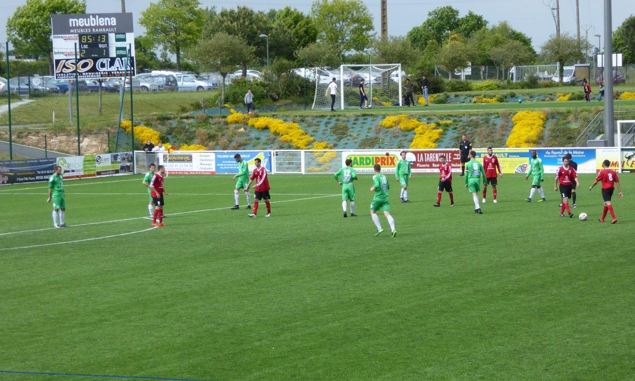 DSR (21e journée) : Bouchemaine assure l'essentiel face à Saint-Herblain (2-1).