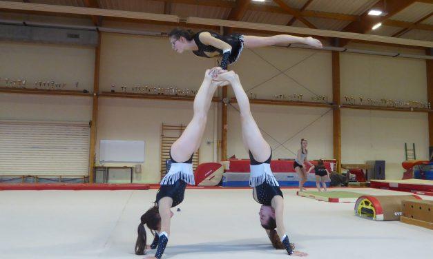 A la découverte des Championnats de France Élite de gymnastique aux Ponts-de-Cé.