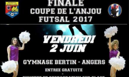 Finale de la coupe de l'Anjou Futsal !