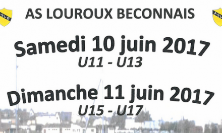 L'AS Louroux-Béconnais recherche des équipes U15 et U17 pour son tournoi.