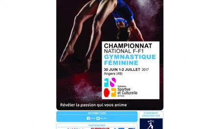 NDC Gymnastique organise le Championnat National de Gymnastique féminine F-F1 par équipes