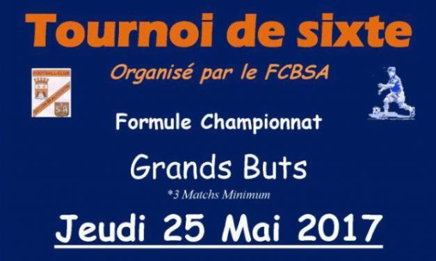 Le FC Bécon Saint-Augustin organise son tournoi de sixte, formule championnat.