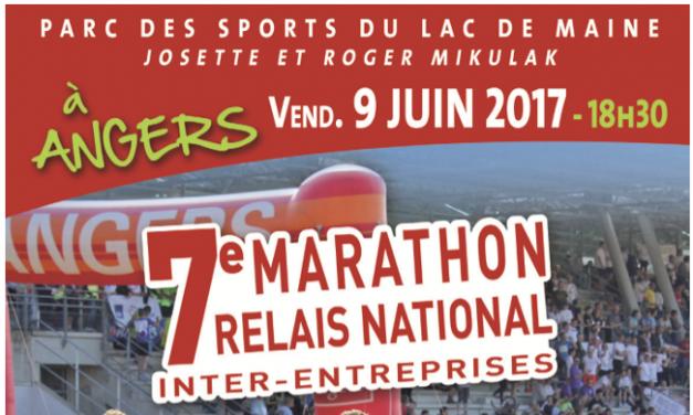 7e édition du Marathon Relais National Inter-entreprises 2017.