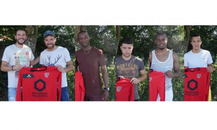 Florent LEROY nous présente ses cinq nouvelles recrues à Angers SCA.