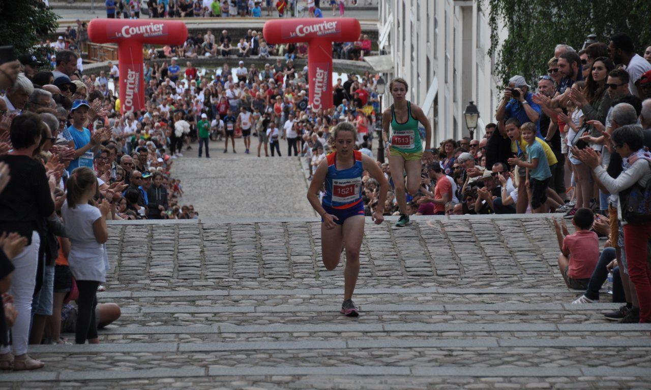 Tout Angers Bouge : Le défi Saint-Maurice, une course verticale.