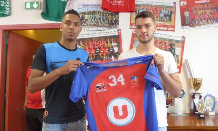 Flavio FORTES et Paul CORREIA sont les deux nouvelles recrues d'Angers-Noyant HBC.