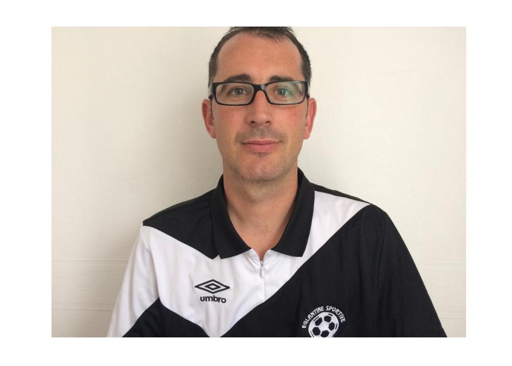 Grégory MAILLET veut continuer à faire grandir le club de l'Églantine de Trélazé.