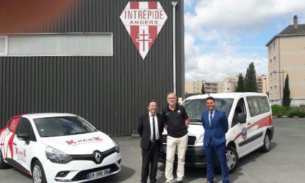 L'intrépide d'Angers signe un partenariat avec l'entreprise Kpark.