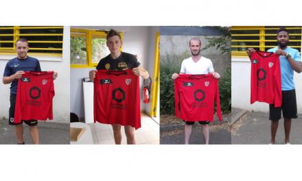 Angers SCA se renforce avec quatre nouvelles recrues.