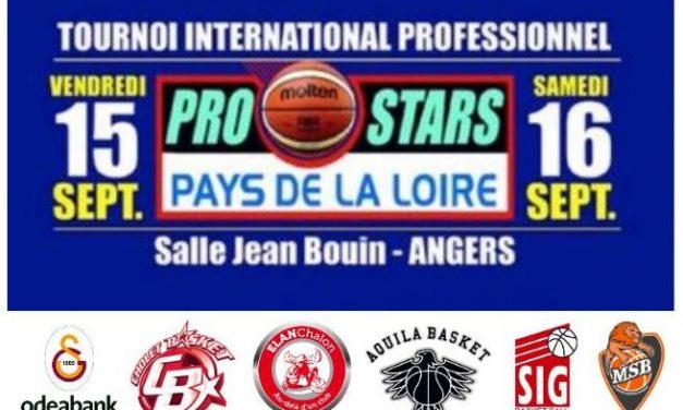 Présentation du Prostars Pays-de-Loire de basket 2017.