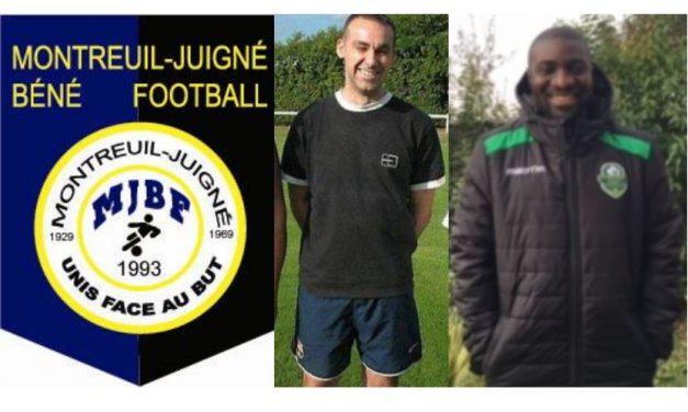 Franck DIA rejoint le staff de Montreuil-Juigné-Béné Football.