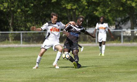 Bon match nul de la réserve du SCO face aux Voltigeurs de Châteaubriant (1-1).