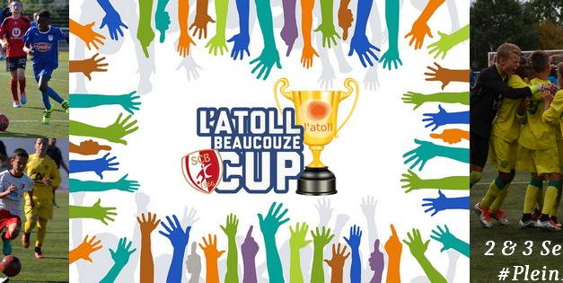 Coup d'envoi de la quatrième édition de l'Atoll Beaucouzé Cup.