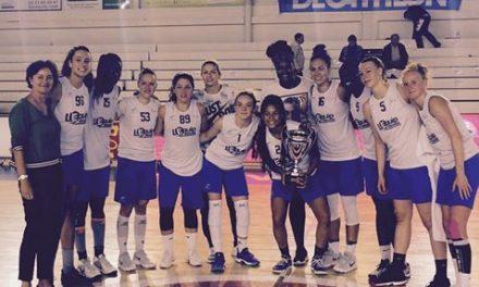 L'Union Féminine Angers Basket remporte l'Open de Normandie à Mondeville.