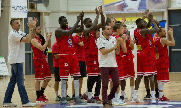 NM1 (26e journée) : Réelle performance de Brissac Aubance Basket à Andrézieux (91-88).