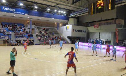 N1M (2e journée) : Angers-Noyant HBC remporte une précieuse victoire à Bruges (30-26).