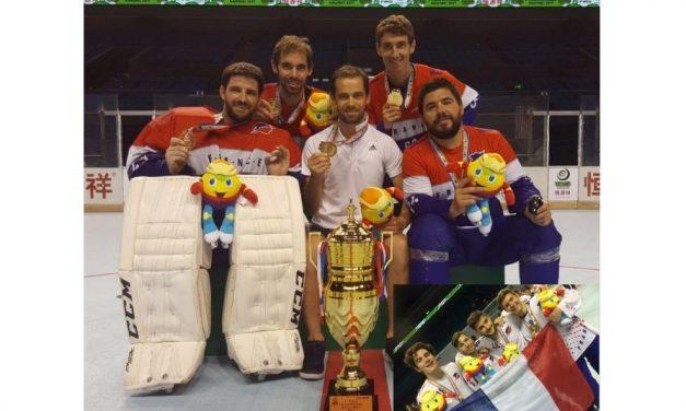 «Tour de chauffe» de l'équipe première des Hawks d'Angers !