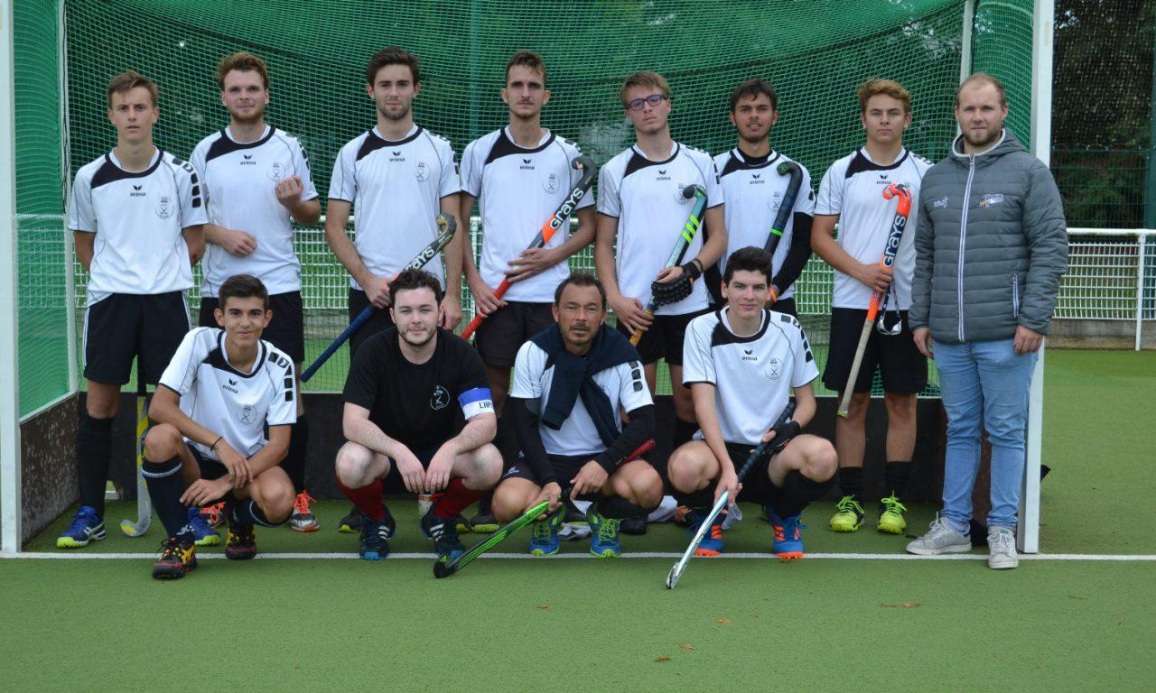 Une victoire et une défaite pour le SCO Hockey sur gazon lors de son deuxième tournoi en salle.