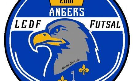 Le LCDF Angers Futsal vous présente son nouveau logo