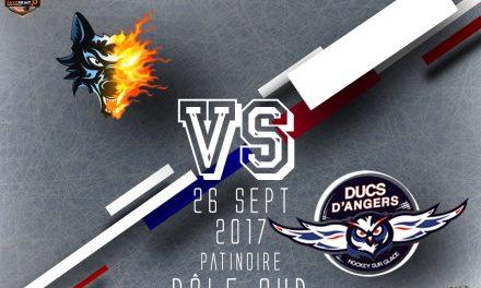 Ligue Magnus (6e journée) : Match à fort enjeu entre Grenoble et Angers.