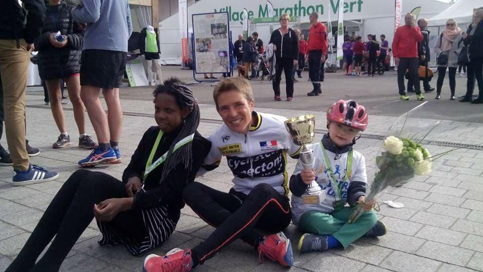 Catherine THOMAS PESQUEUX : Un marathon… toujours une aventure à part…