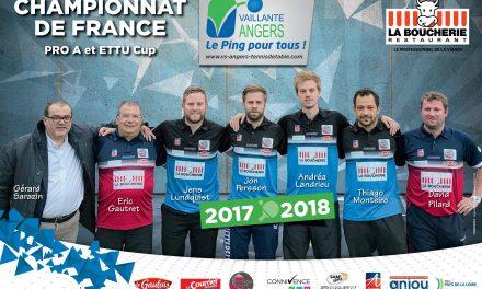 La Vaillante d'Angers reçoit la Romagne, pour un remake de la finale de l'EETU Cup !