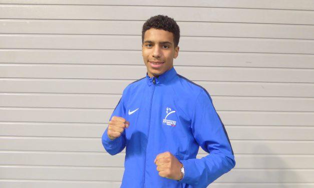 Lilian LOUISET est devenu champion d'Europe Assaut de Savate Boxe Française en -65 kg.