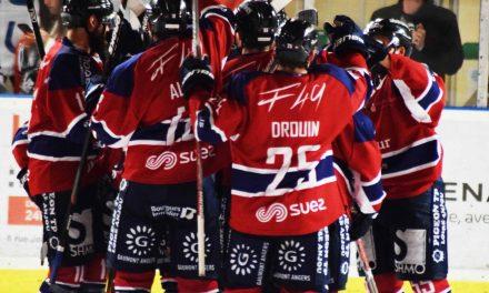 Ligue Magnus (11e journée) : Victoire au forceps pour les Ducs d'Angers face à Lyon (3-2).