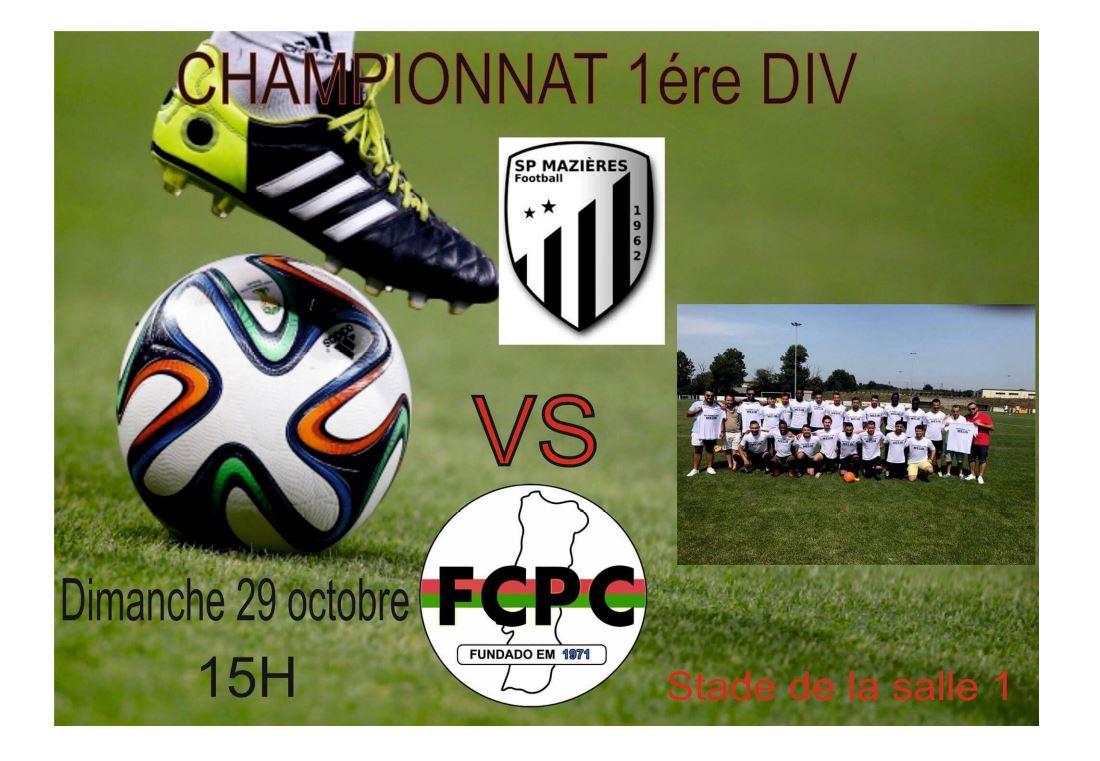 Gros derby choletais, avec la rencontre entre Mazières-en-Mauges et Cholet FCPC !